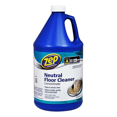 zep 1 gal neutral floor cleaner zuneut128 the home depot