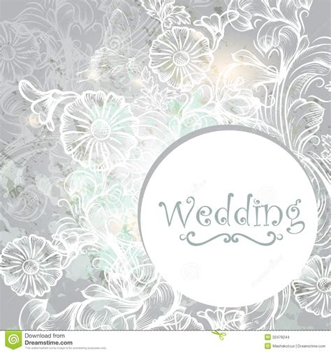 wedding pattern background vector cute wedding background in blue color stock images image