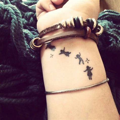 tattoos representing your child children this is on my wrist i got this to