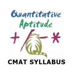 Cmat For Mba Syllabus by Common Management Admission Test Cmat Syllabus