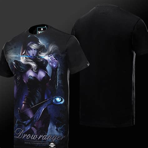 Dota 2 Tees Dota 2 Drow Ranger T Shirt Defense Of The Ancients