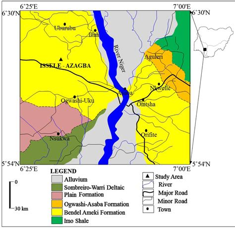 diagram of map of nigeria diagram of map of nigeria showing mineral resources images