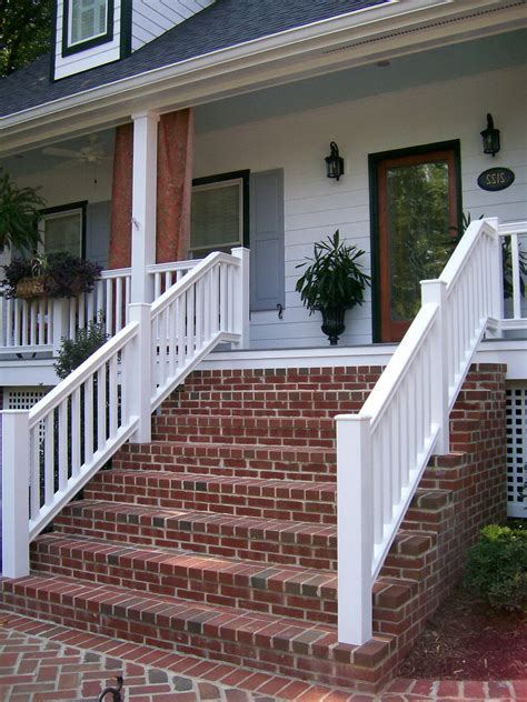 brick front porch steps ideas for the house pinterest