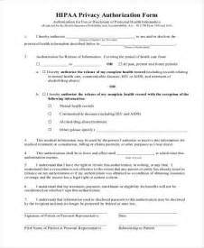 Hipaa Release Letter Hipaa Release Form Hipaa Authorization Release Form Sle Authorization