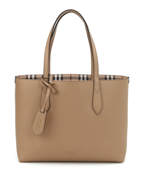 Burberry Tote by Haymarket Check Reversible Tote By Burberry Totes Bags