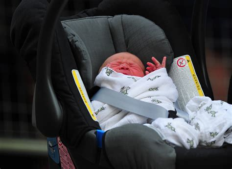 newborn baby seat was the royal baby s car seat improperly secured