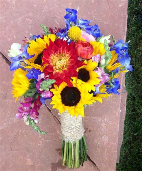 wildflower arrangements sunflower wedding bouquet wildflower wedding bouquet