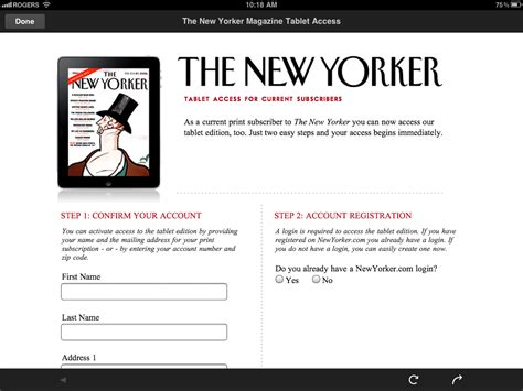 1 Year New Yorker Subscription - new yorker subscription deals lamoureph