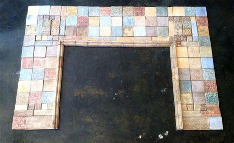 antique batchelder claycraft tiles fireplace surround