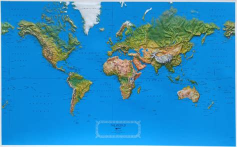 topographic map of the world the gallery for gt topographic world map