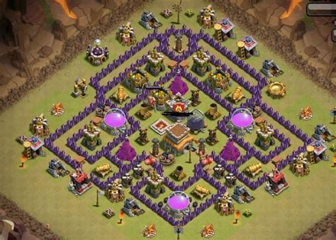Clash Of Clan 8 Town Hall War Base | 1000 images about clash of clans on pinterest