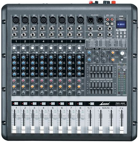 Power Mixer Audio Protea Pmx 12 Usb 8 channel sound power mixer pmx 860d buy power