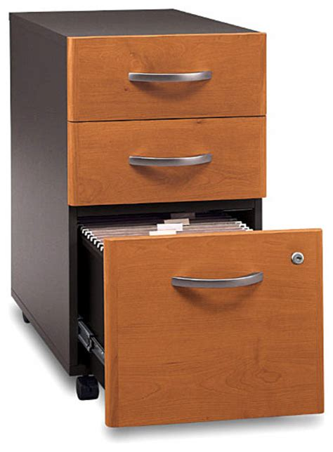 assembled three drawer rolling file series