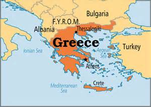 where is athens on map crisis why the athens stock exchange plunged on