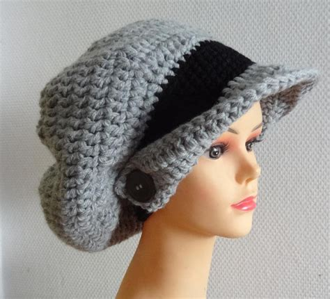 how to crochet a beanie stitch piece n purl