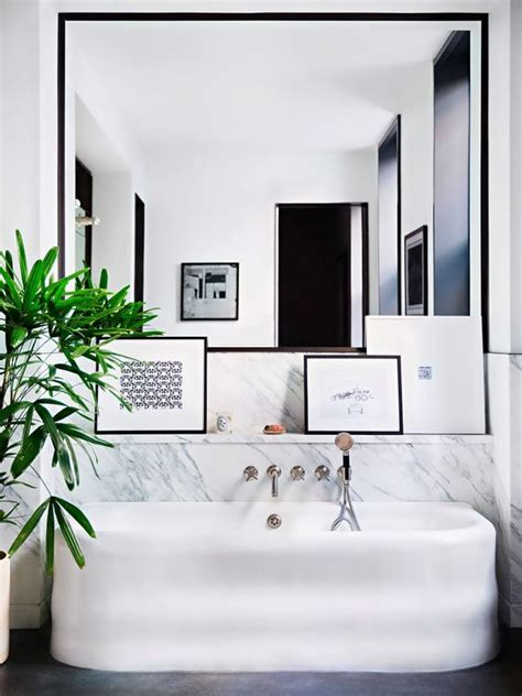 Pictures For The Bathroom Framed by 30 Cool Ideas To Use Big Mirrors In Your Bathroom Digsdigs