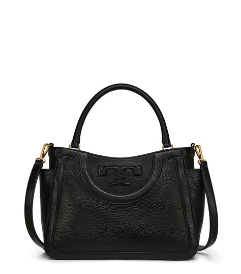 Diskon Burch T Satchel 1 burch serif t small satchel in black lyst
