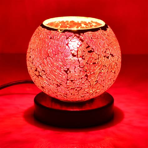 purple himalayan salt l mosaic l with himalayan salt rocks