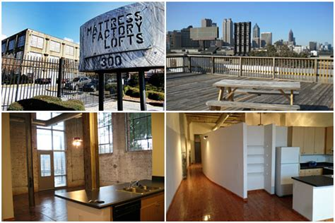 Mattress Factory Lofts by 10 Apartment Conversions In Atlanta Worth Calling Home