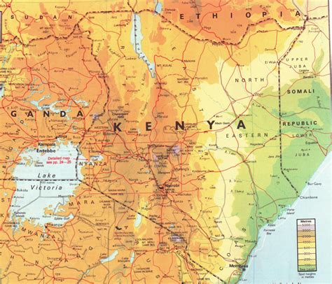 map of kenya kenya s geography climate and biogeography