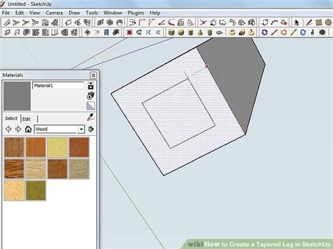 sketchup layout wikipedia how to create a tapered leg in sketchup 8 steps with