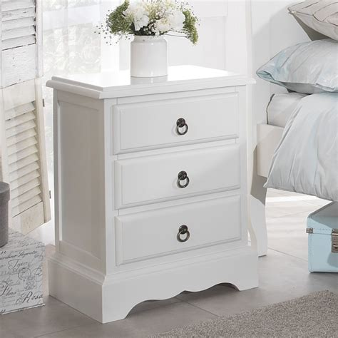 The Bed Table With Drawer by White Bedroom Furniture Bedside Table Chest Of