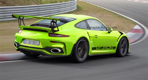 porsche gt3 engine facelifted porsche 911 gt3 rs imagined with 4 2 liter