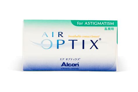 compare air optix  astigmatism  lensbox price