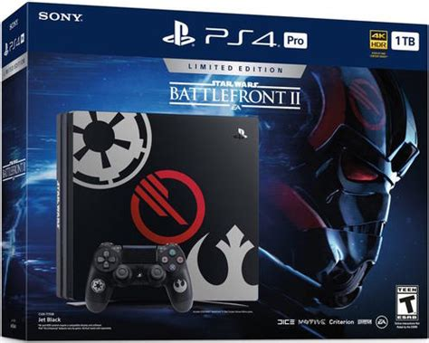 wars battlefront 2 console playstation 4 pro 1tb console with wars battlefront