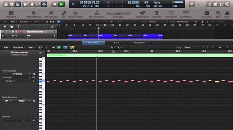 maschine pattern grid drum programming tutorial trap beat hi hats in logic pro