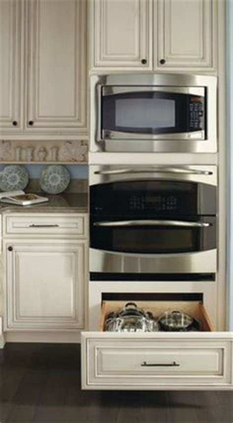 double oven and microwave housing cabinet microwave ovens on pinterest microwaves hidden