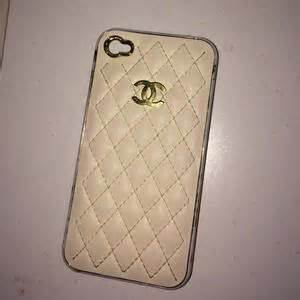 Chanel Gold For Iphone 4s Or Iphone 5s chanel iphone on poshmark
