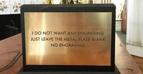 engraving  leave  metal plate