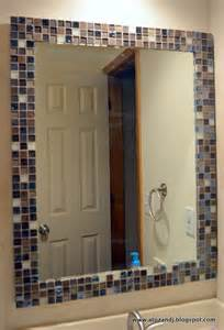 border around bathroom mirror a to z with a j mirror makeover