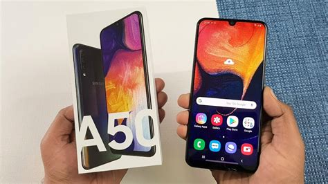 Samsung Galaxy A50 Zoomit by Samsung Galaxy A50 Unboxing Review