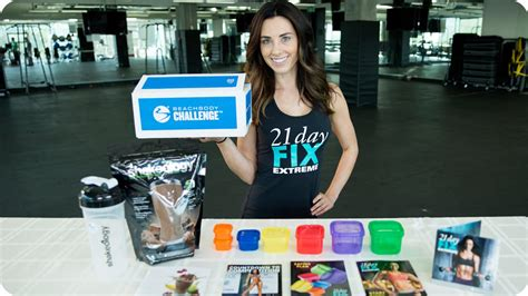 21 day shakeology challenge 21 day fix and shakeology challenge pack official