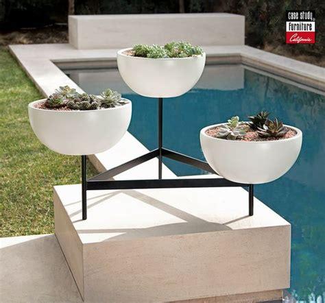 mid century modern ceramic planters modernica retro