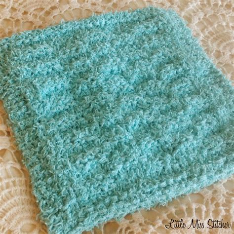 pattern for knitting a dishcloth little miss stitcher 5 free knit dishcloth patterns