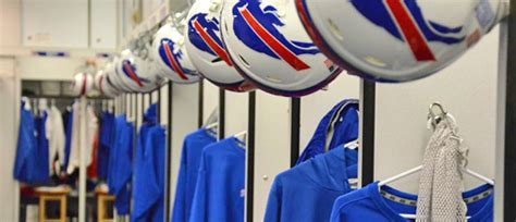 Bills Locker Room by Nothing To Do But Note The Buffalo Bills Nothing To