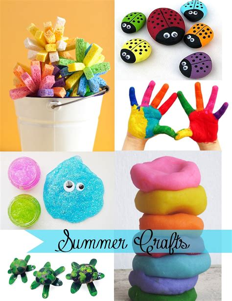 kid craft ideas for summer being creative to keep my sanity summer crafts for