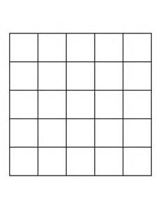 grid template 5 by 5 grid clipart etc
