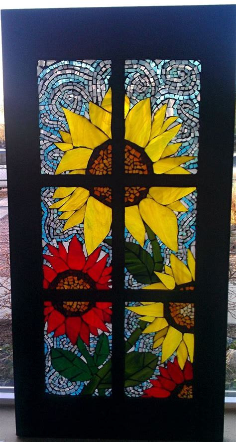 25 Best Images About Mosaic Window On Pinterest Stained Mosaic Glass Door