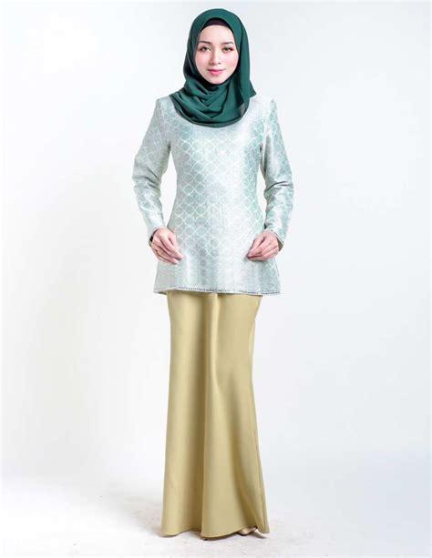 Baju Raya Songket Moden baju kurung moden servyna olive lovelysuri