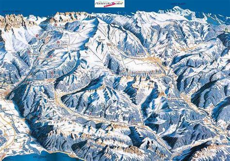 portes du soleil plan avoriaz plan des pistes de ski avoriaz