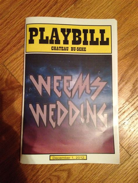 playbill wedding invitation template 30 best images about wedding playbills on