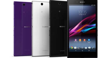 Tablet Sony Z Ultra Sony Turns Its Xperia Z Ultra Into A Tablet In Japan