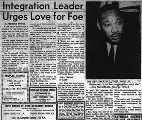 Martin Luther King Civil Rights Movement Essay by Mlk Jr Newspaper Article Civil Rights Movement