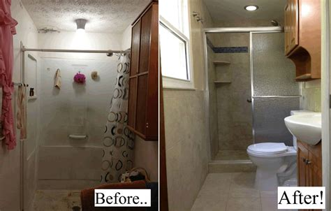 before and after home decor large size of kitchen small bathroom remodels before and