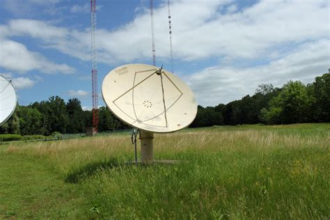 mounting a new satellite dish engineering radio