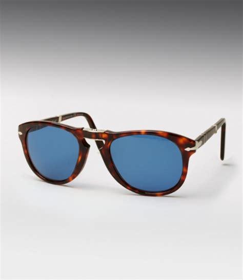 Persol Handmade Sunglasses - persol 714 sunglasses blue lenses steve mcqueen